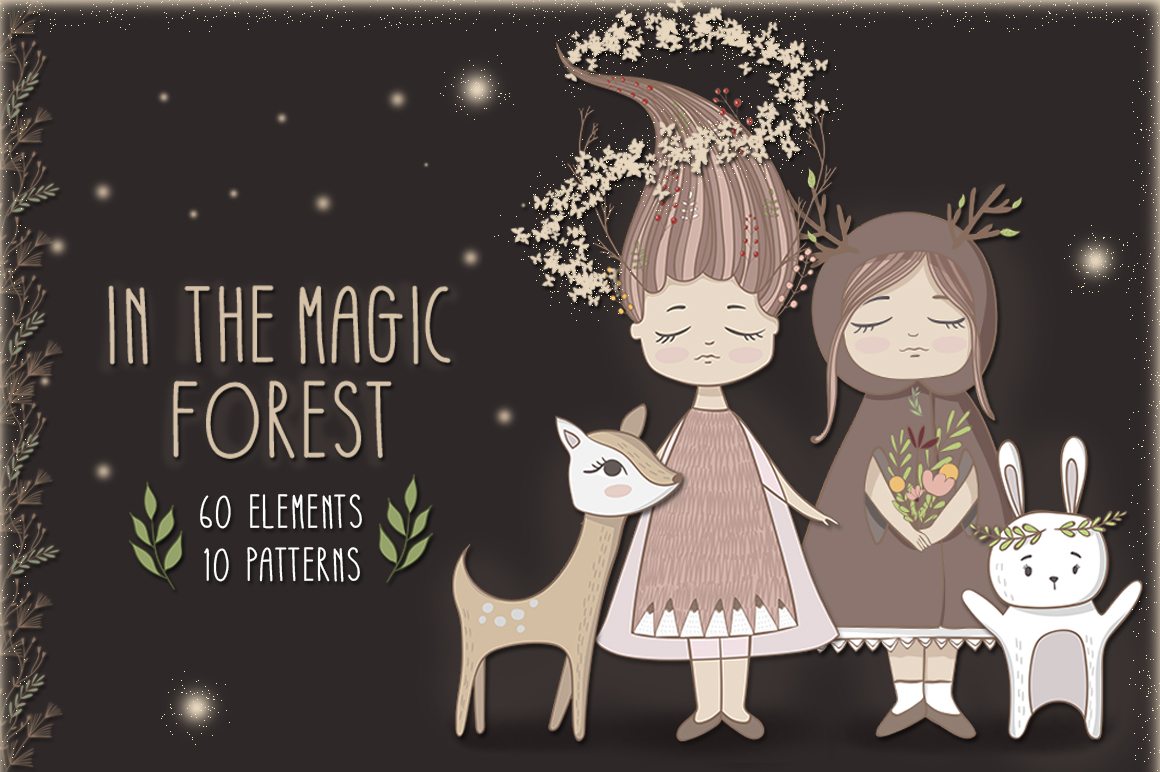 In the magic forest example image 1