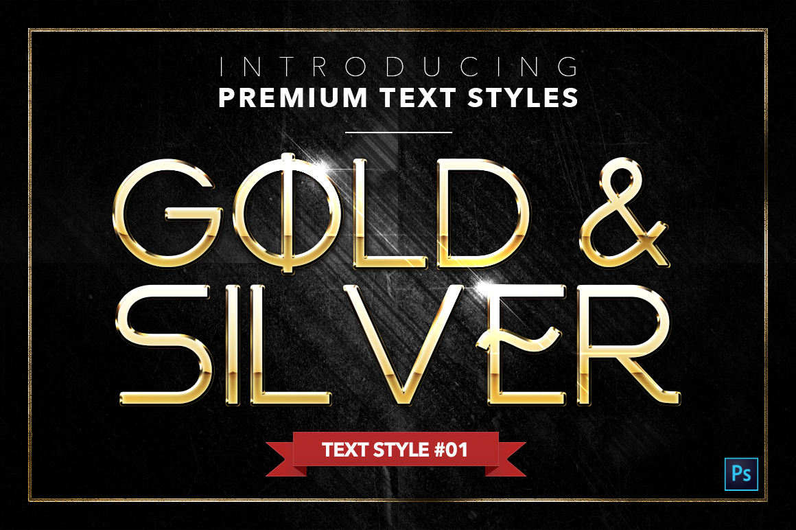Gold & Silver #4 - 20 Text Styles example image 23
