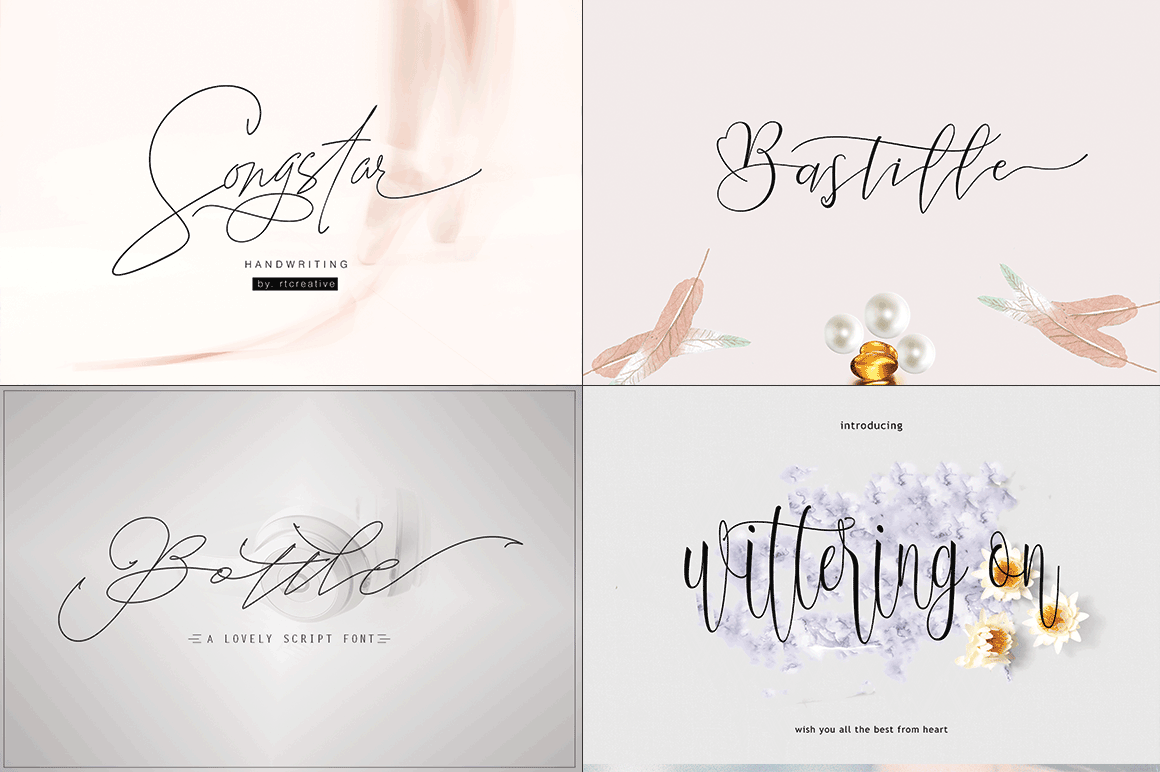 20 Incredible Handwritten Fonts example image 3