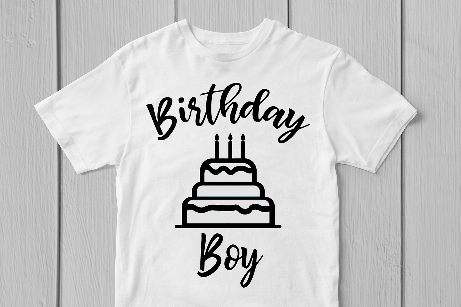 Happy Birthday Boy - Birthday SVG EPS DXF PNG Cutting Files example image 3