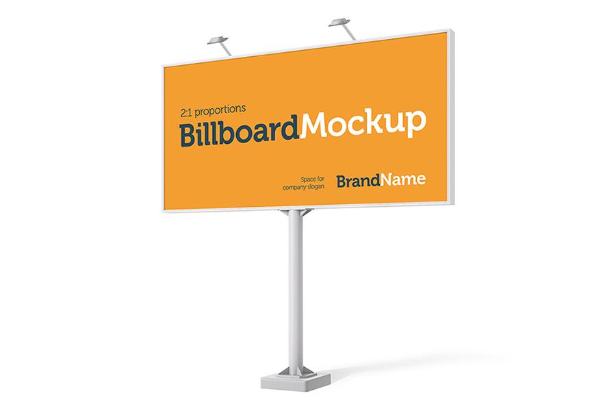 Billboard Mock-Ups. Day & night view example image 3