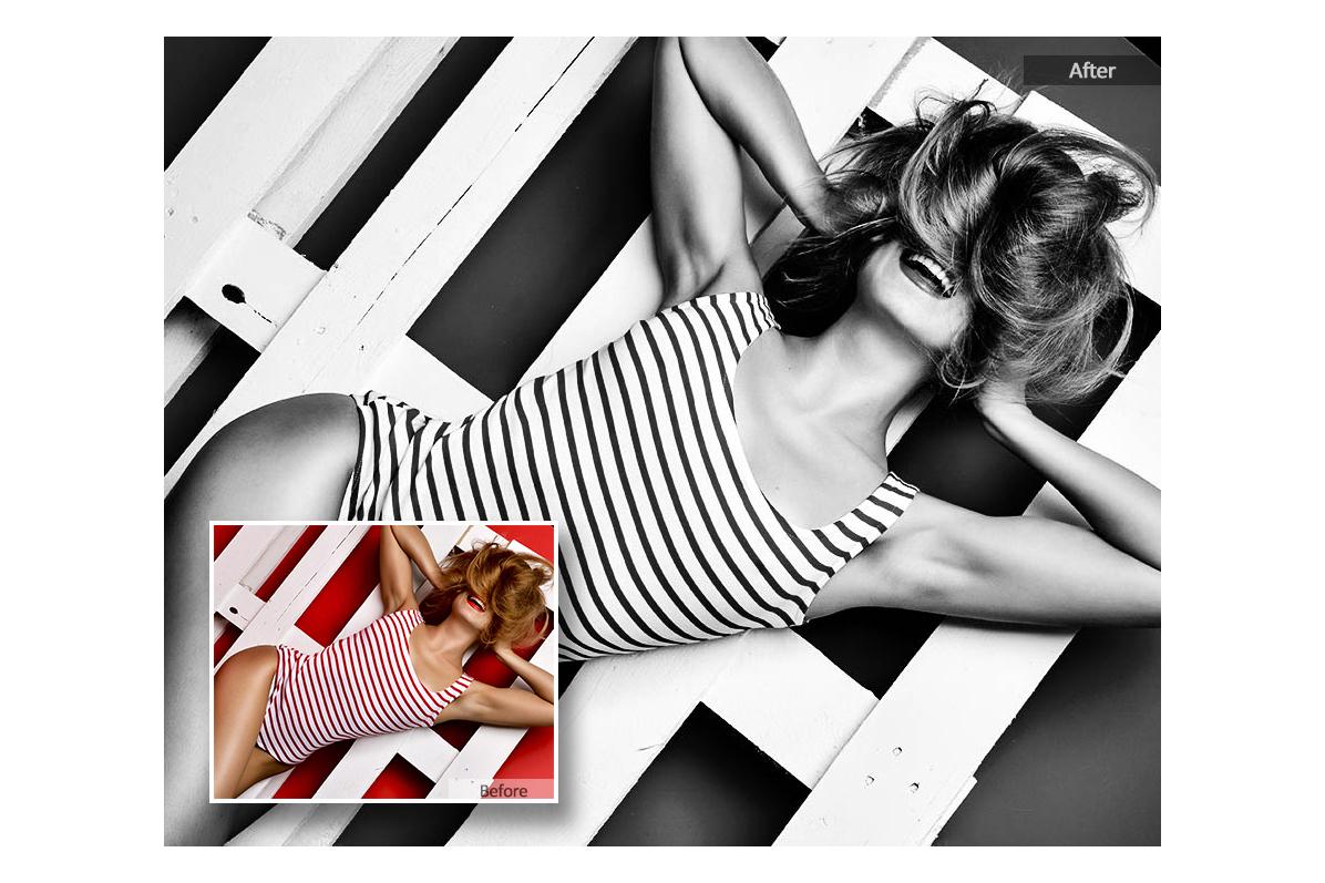 Black White Lightroom Presets example image 2