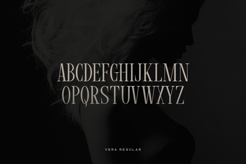 Vera Typeface example image 2