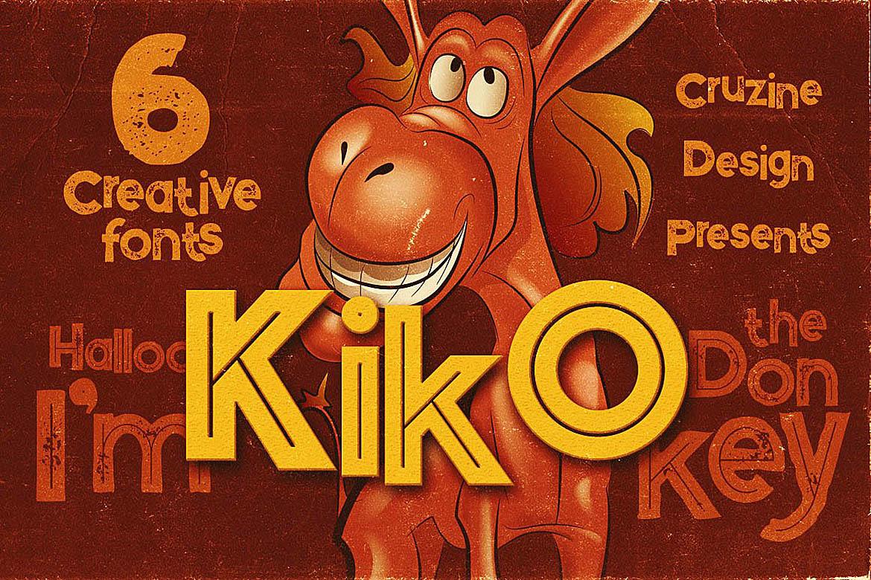Kiko - Funny Display Font example image 1