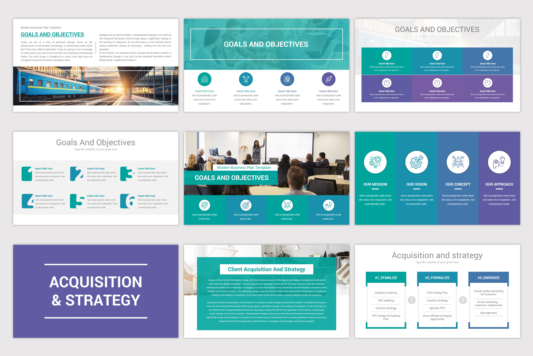 Business Plan Keynote Template example image 7