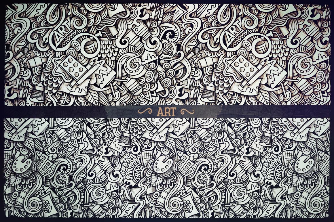 -50 SALE/ Big Doodle Patterns Bundle #2 example image 3