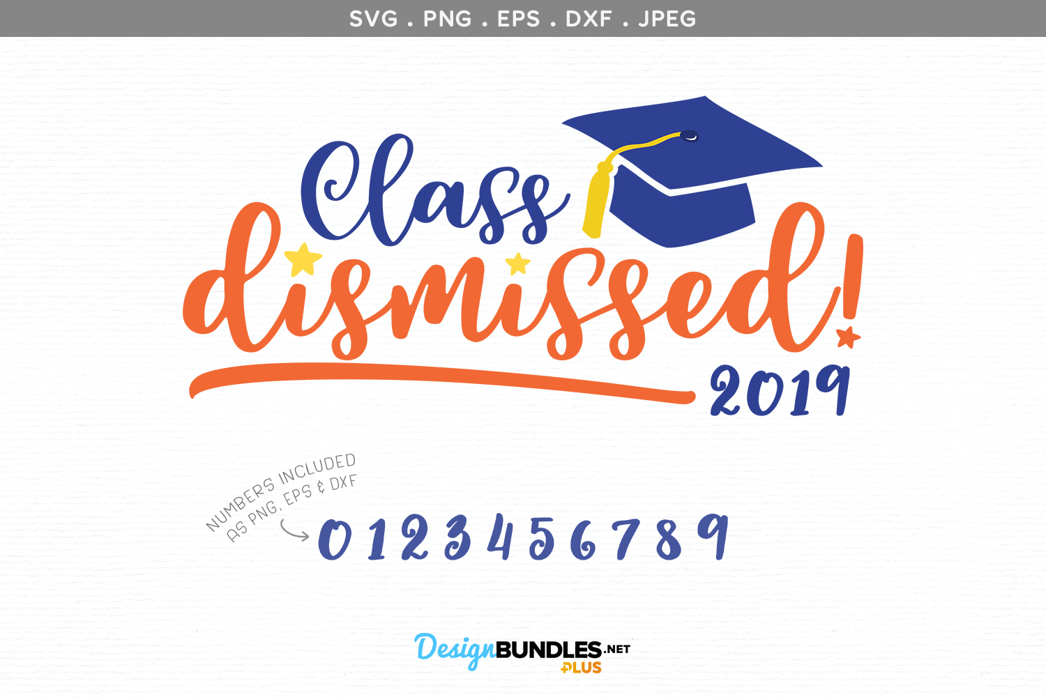 Class Dismissed- svg & printable example image 2