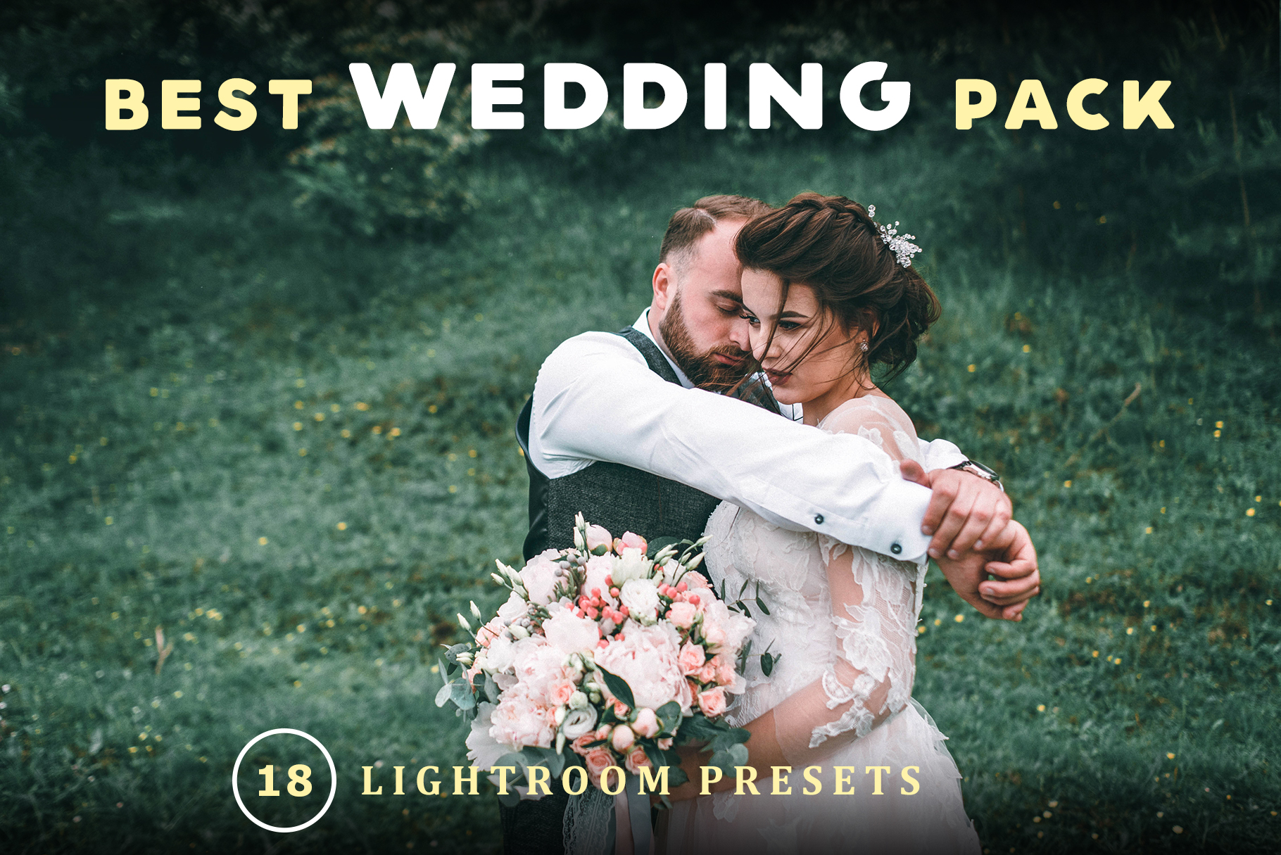 Wedding Pack Lightroom Presets example image 1