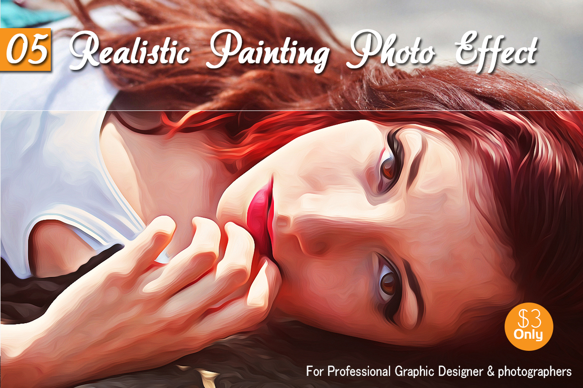 05 Realistic Painting Photo Effect example image 1