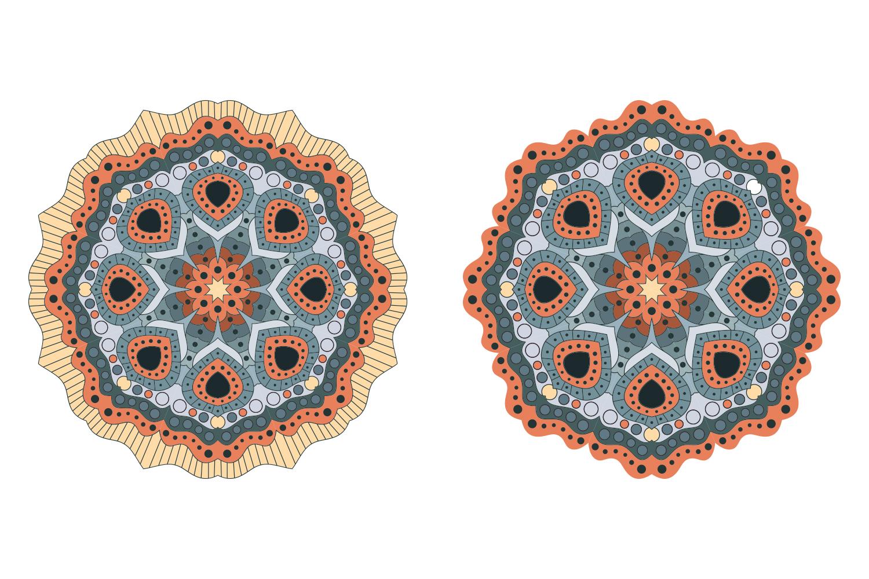 Vector Mandala Art example image 5