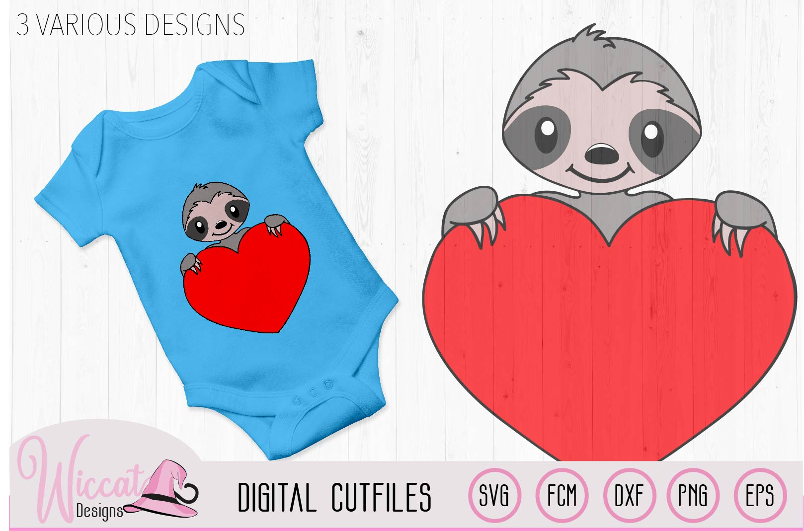 Valentine sloth pun svg, I love you a sloth quote example image 2