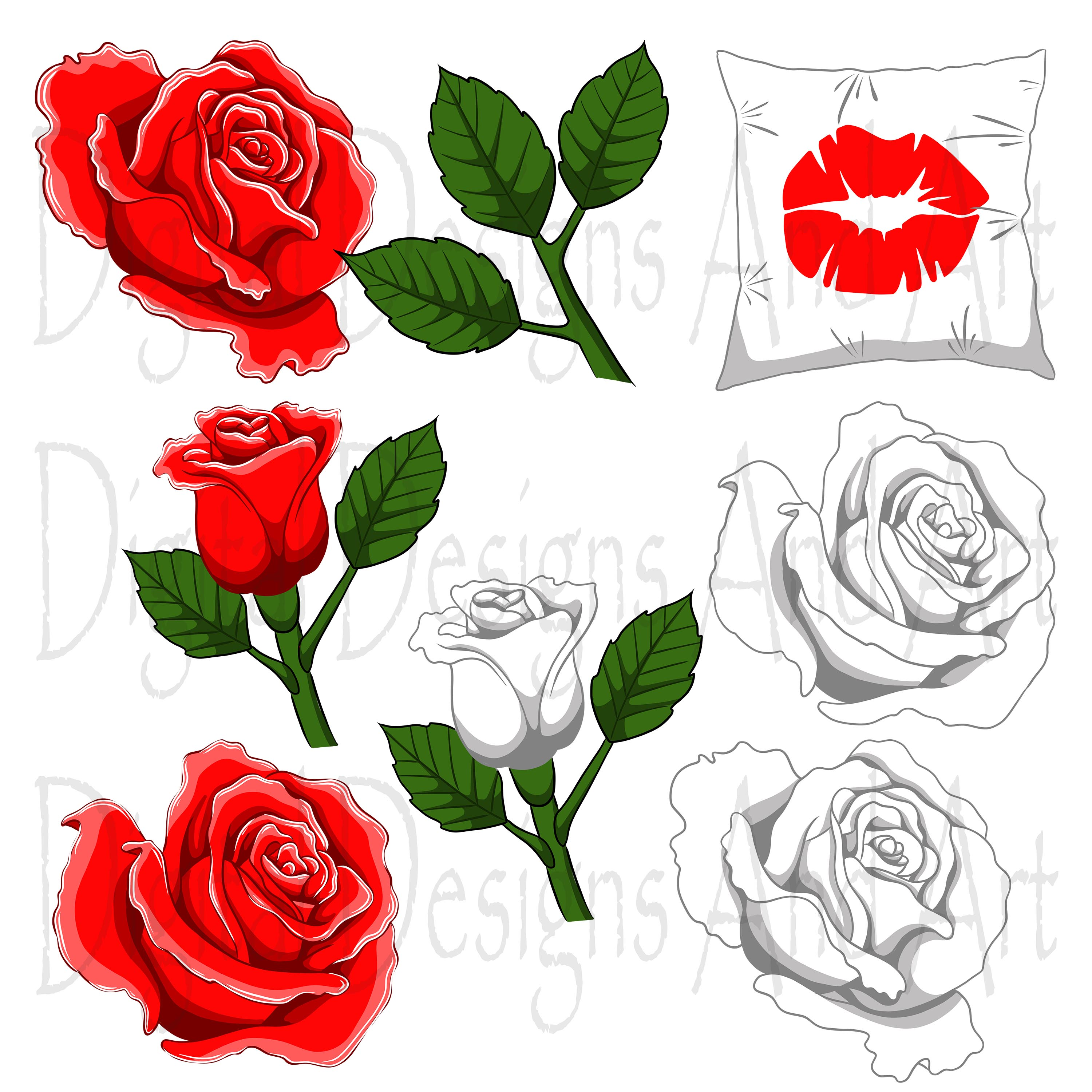 Kiss me clipart example image 2