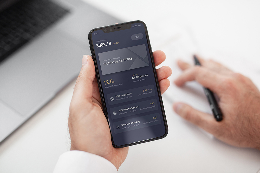 iPhone X Mock-Up Business Style example image 3