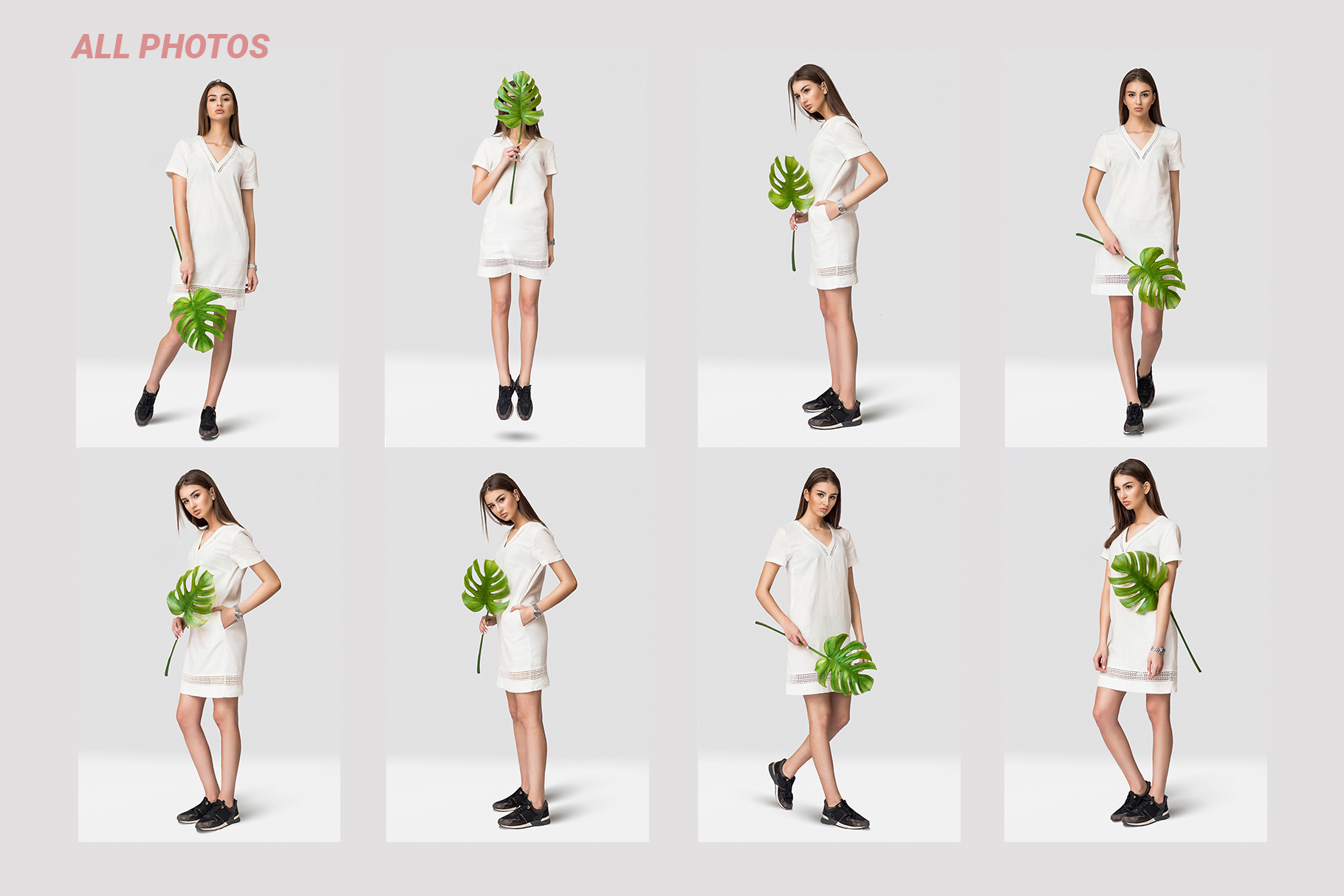 Female dress mockups Free demo example image 8