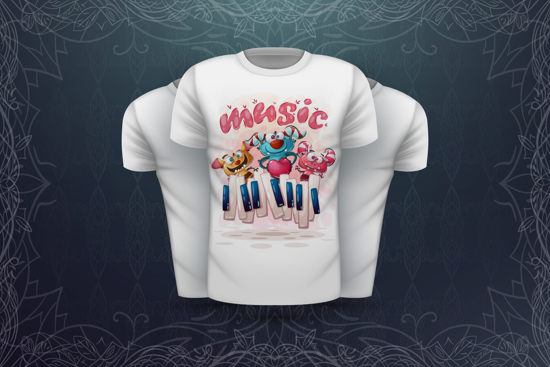 Sweet animals - for print t-shirt example image 2