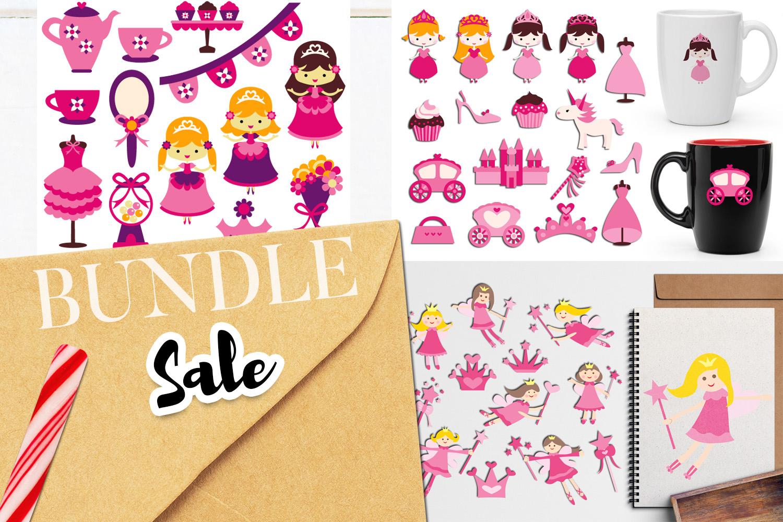 Just For Girls Clip Art Illustrations Huge Bundle example image 18