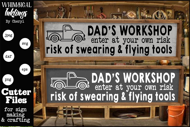 Dads Workshop SVG example image 1