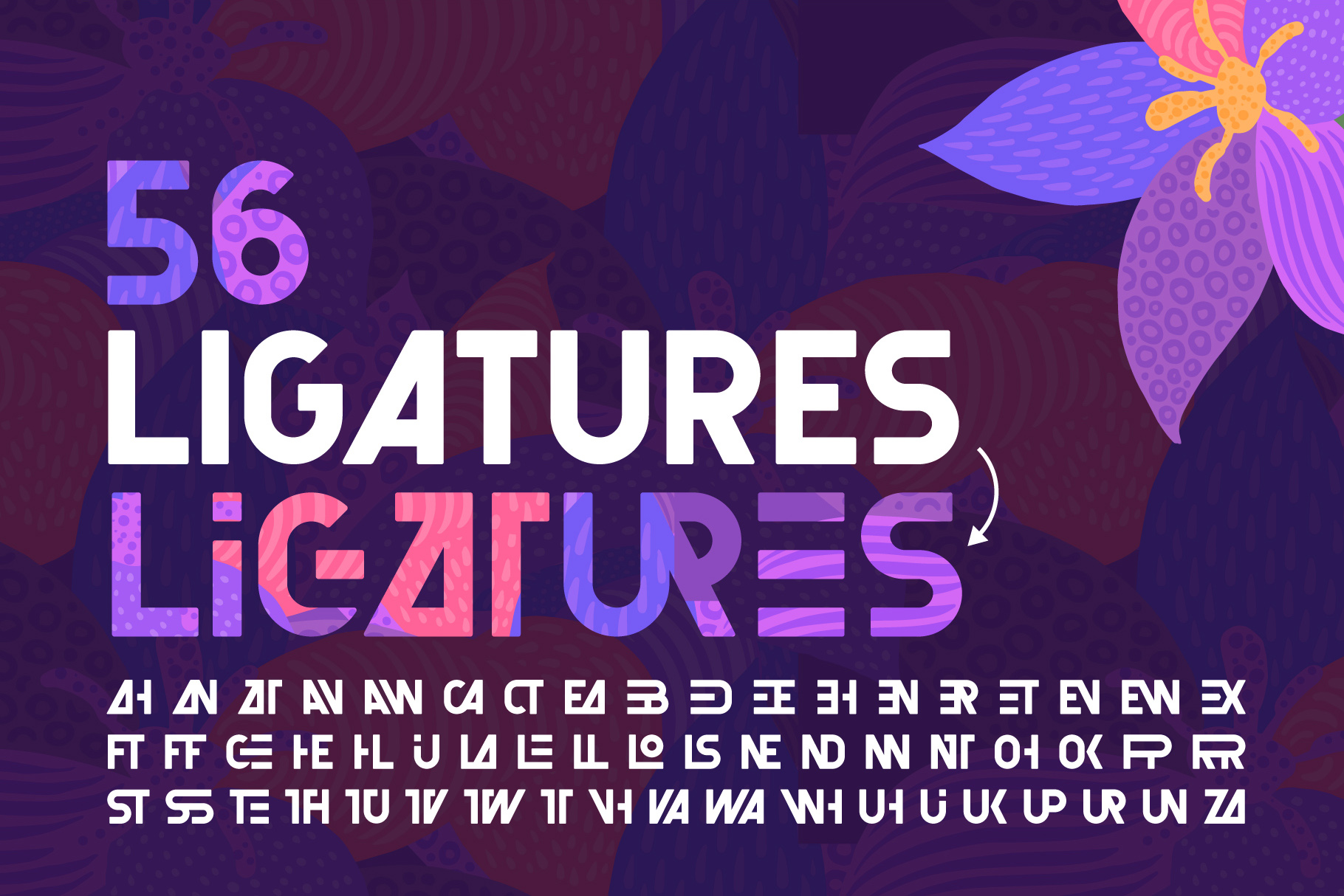 Florry font & illustrations example image 6