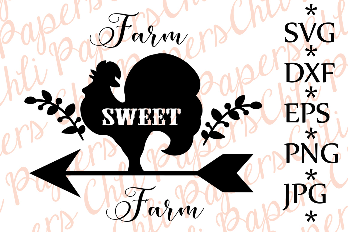 Farm Sweet Farm Svg example image 1