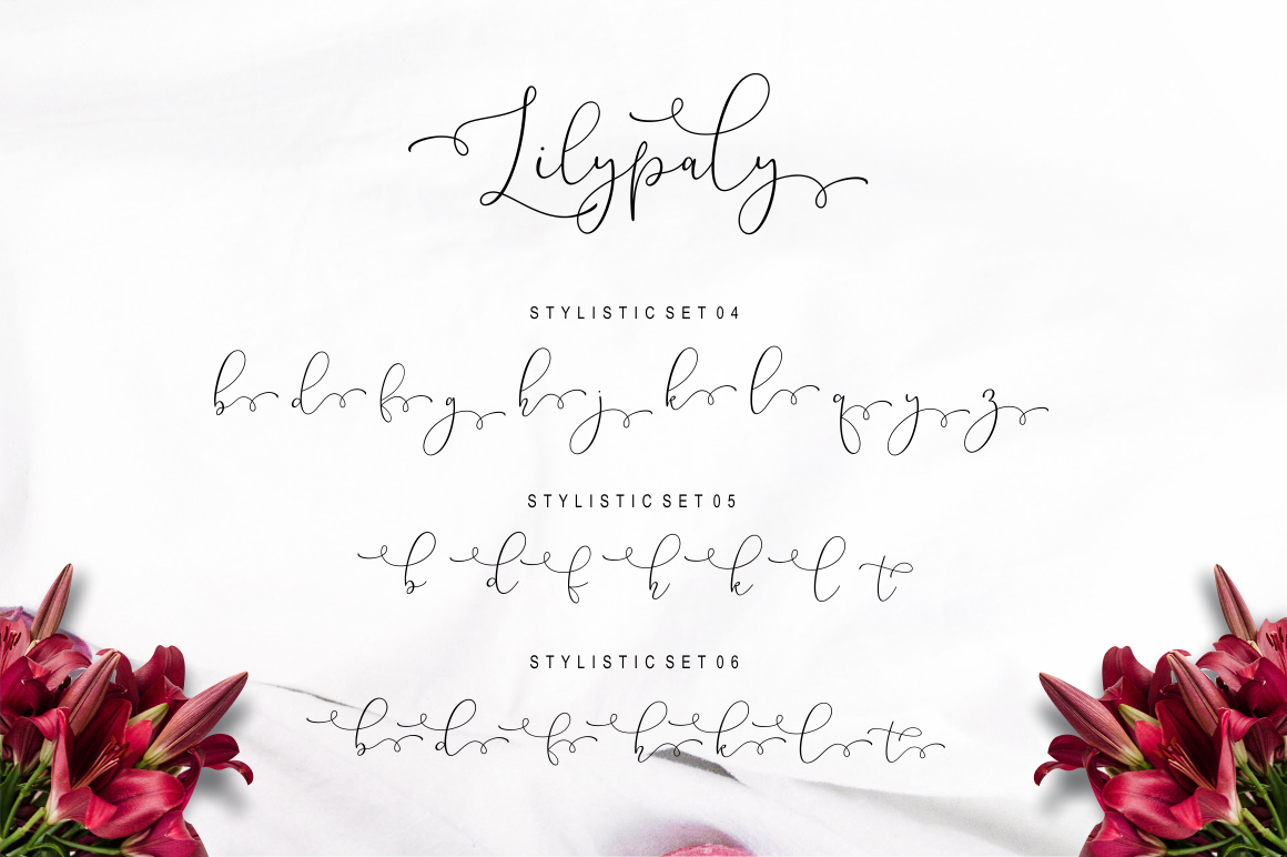 Lilypaly Typeface example image 17