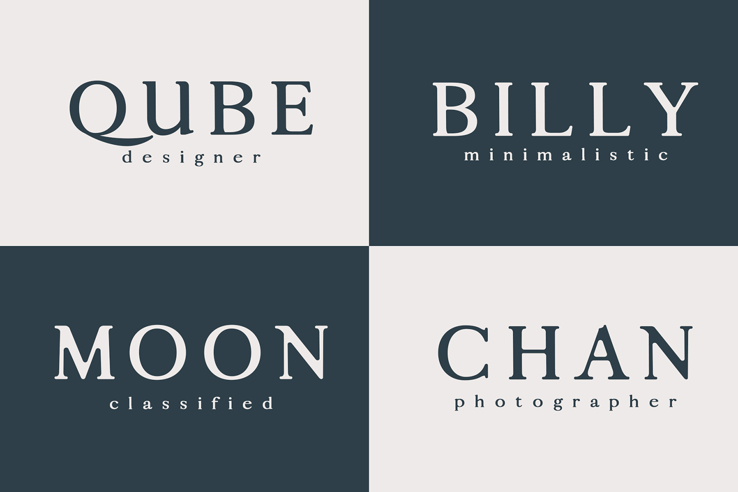 Calean Sans Serif Font Family Pack example image 10