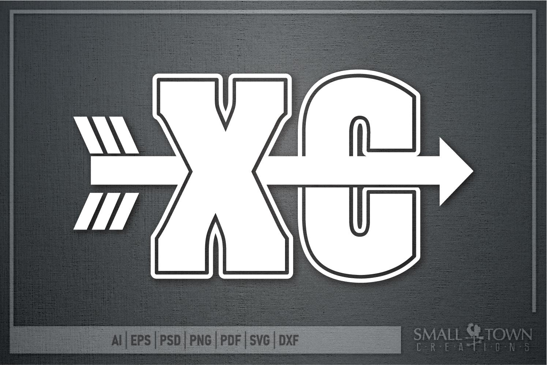 Cross Country, Runner, Distance Runner, PRINT, CUT & DESIGN example image 3