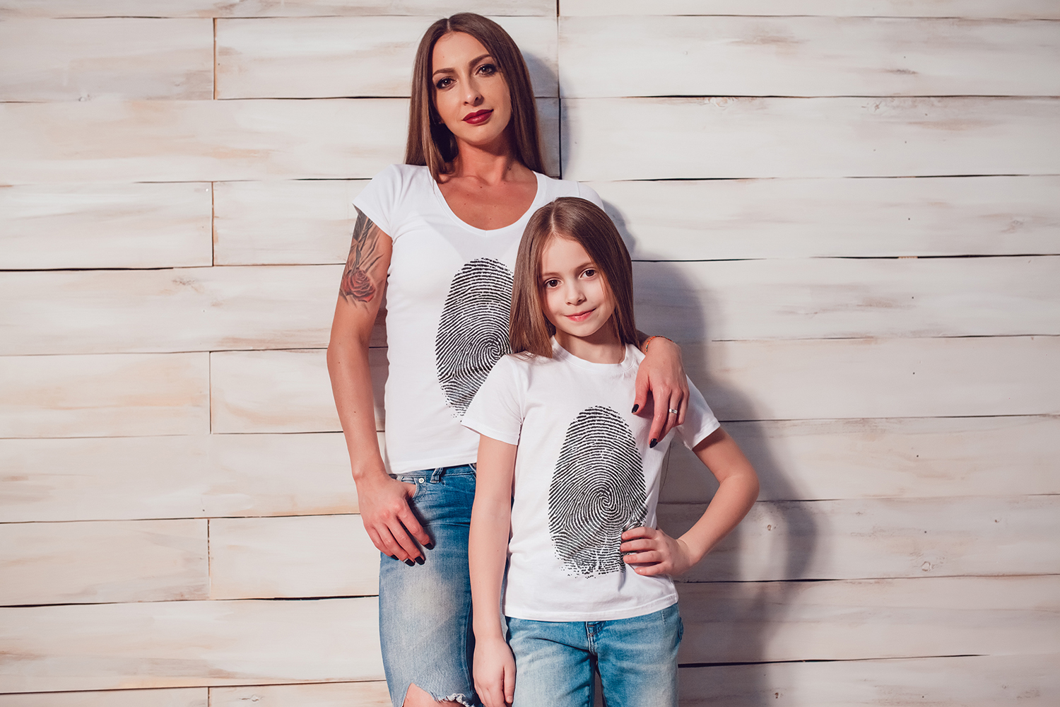 Family T-Shirt Mock-Up Vol.1 2017 example image 7