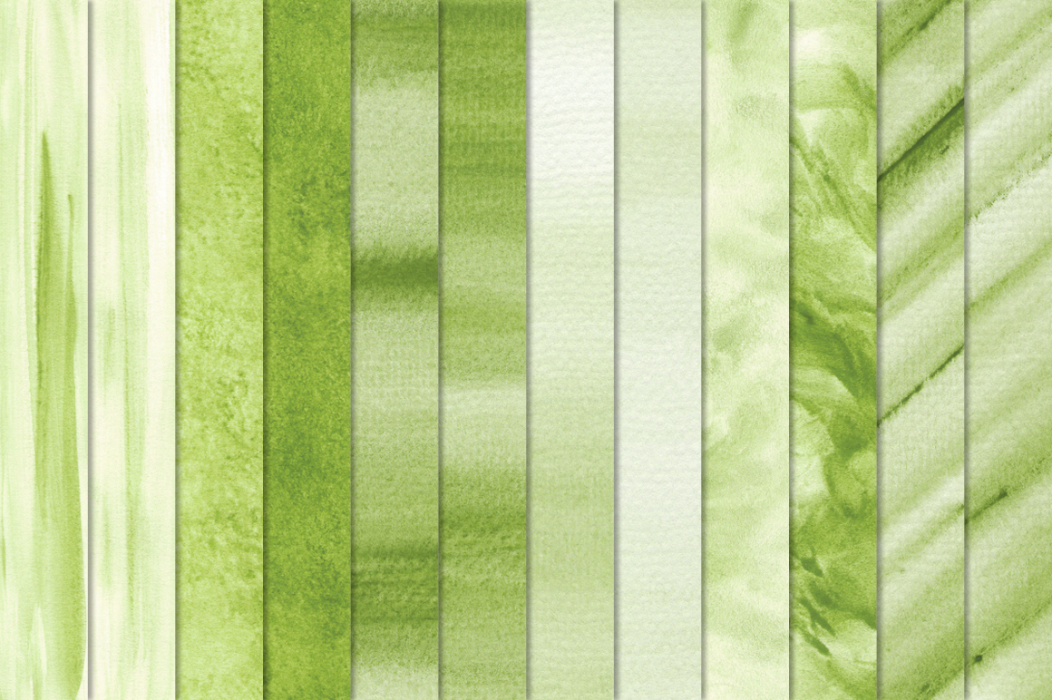 Green Watercolor Texture Backgrounds example image 4