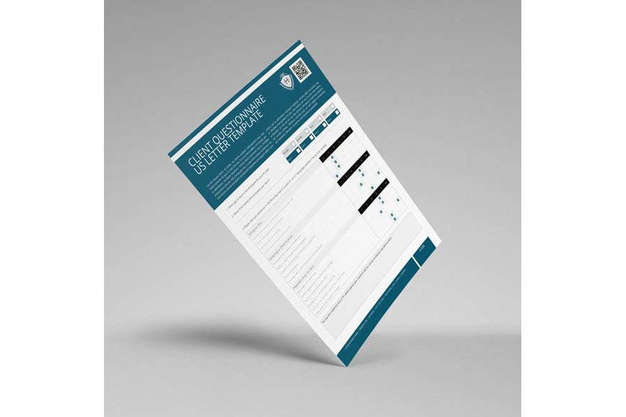 Client Questionnaire US Letter Template example image 5