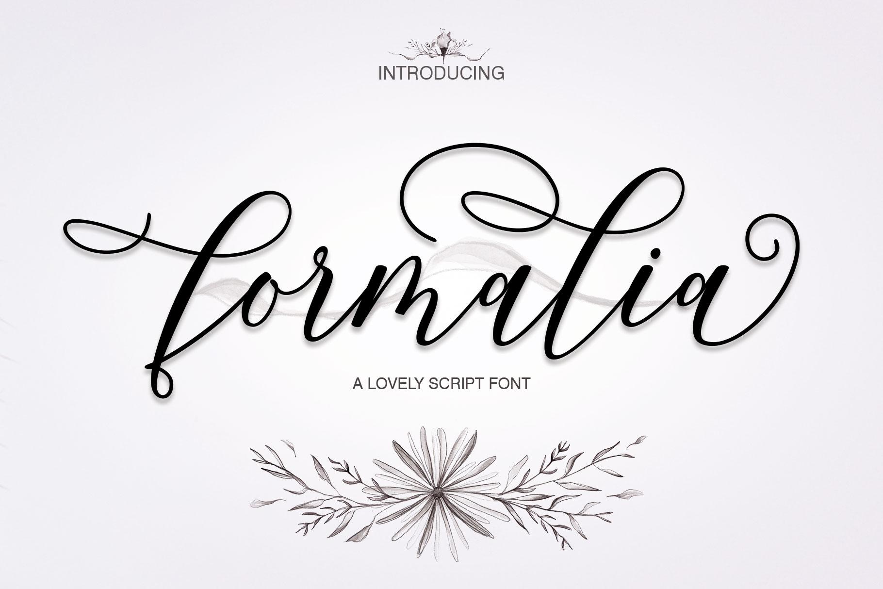Formalia Script example image 1