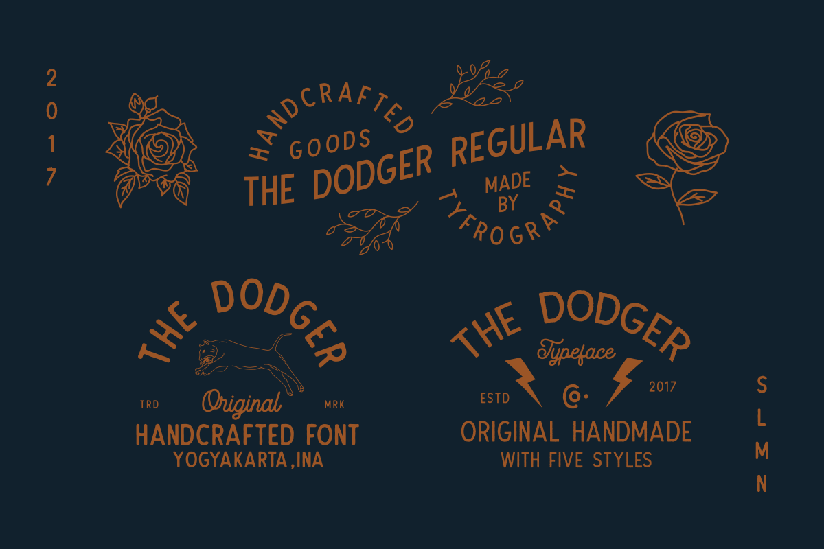 The Dodger + Extra Vector example image 7