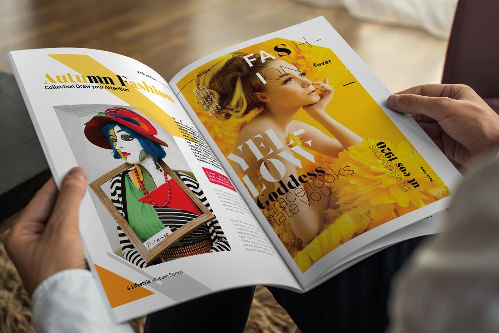 Fashion Magazine Layout Template example image 23