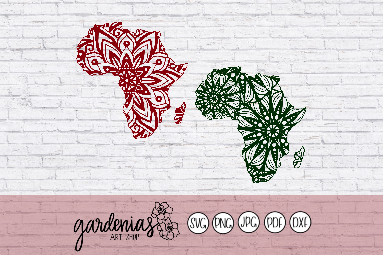 Africa Mandalas example image 2