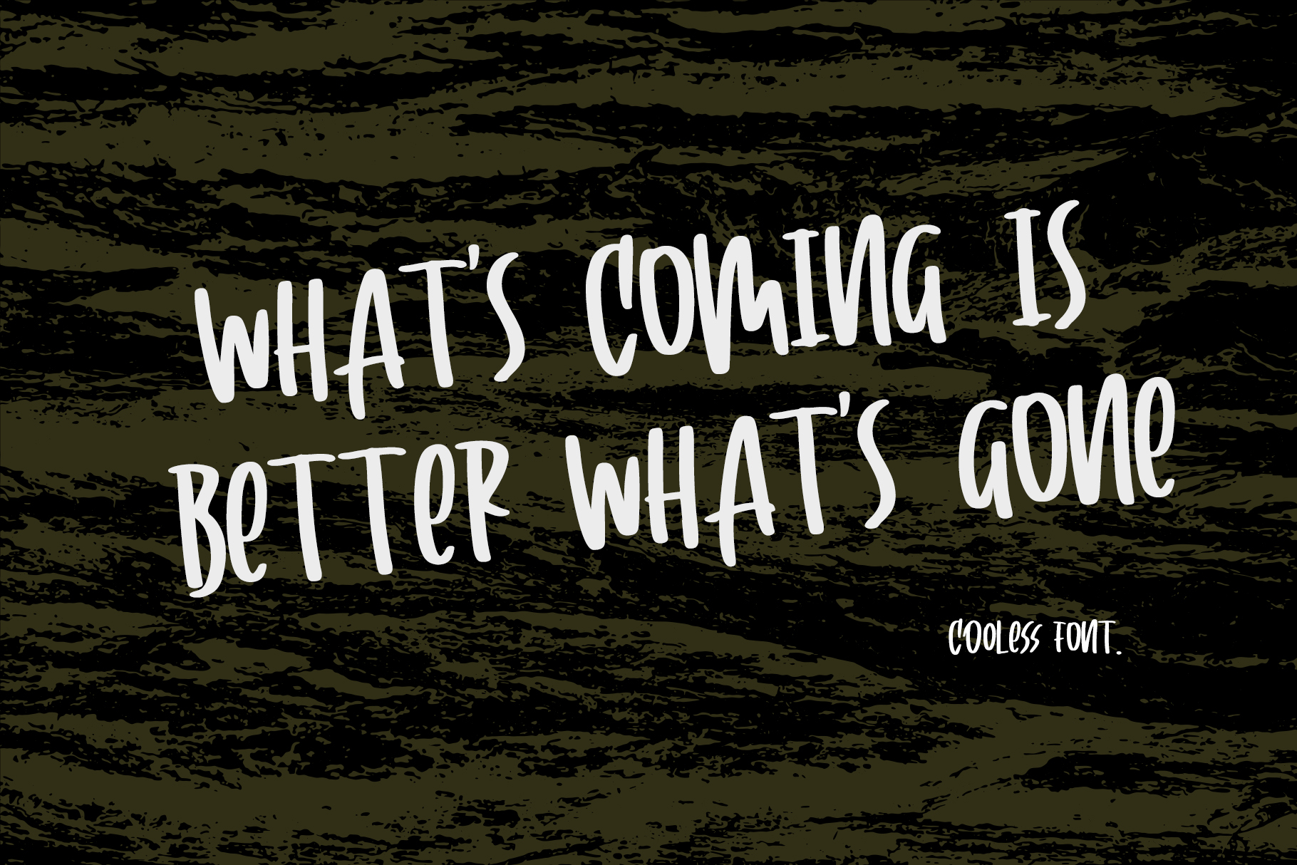 Cooless - Brush Font example image 4