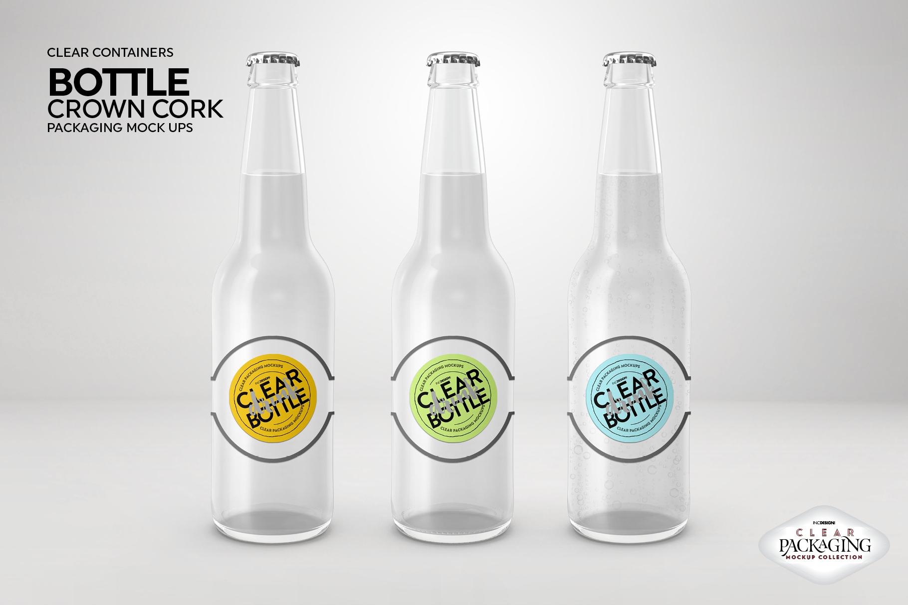Crown Cork Bottle Mock Up example image 4