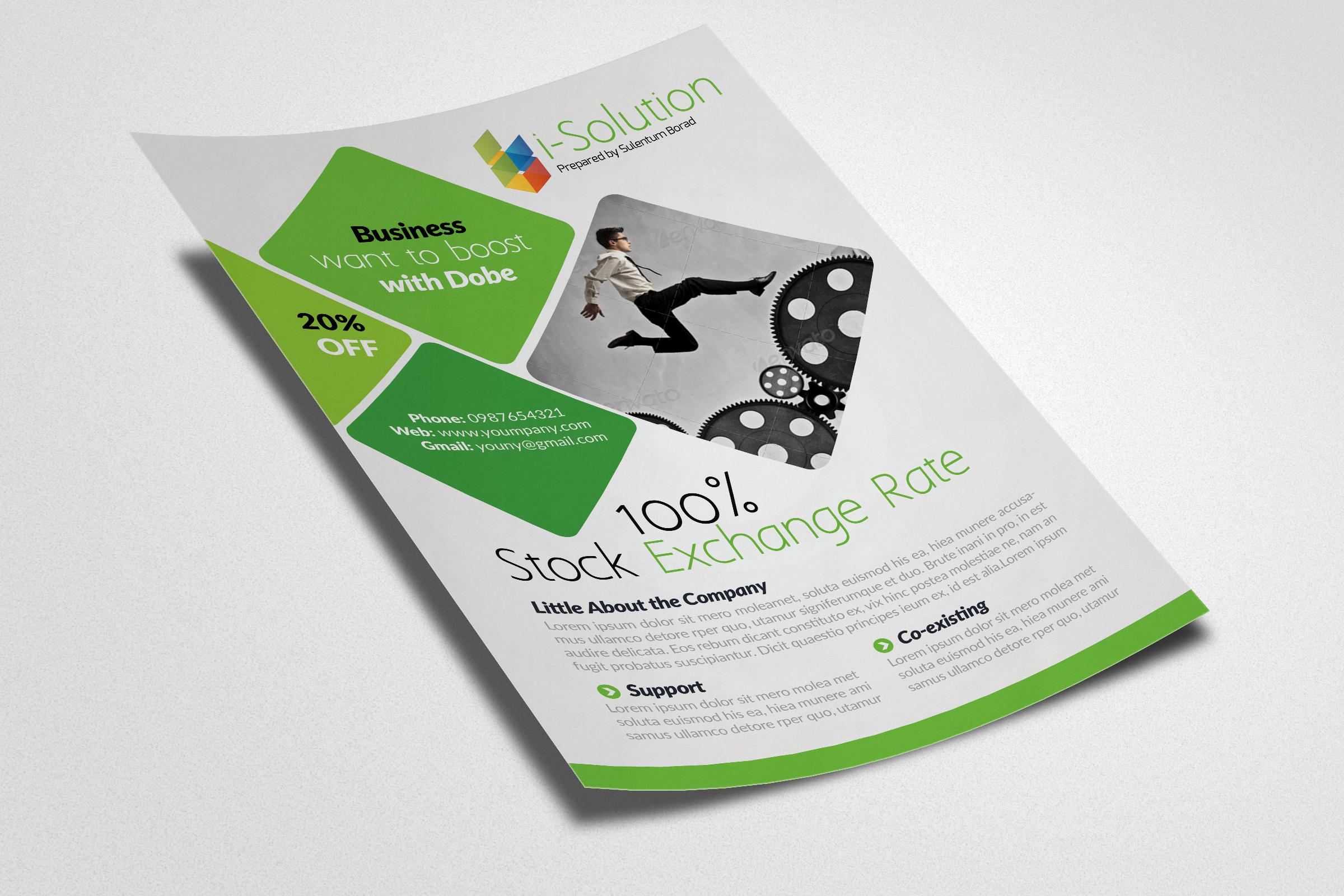 Business Strategic Management Flyer example image 2
