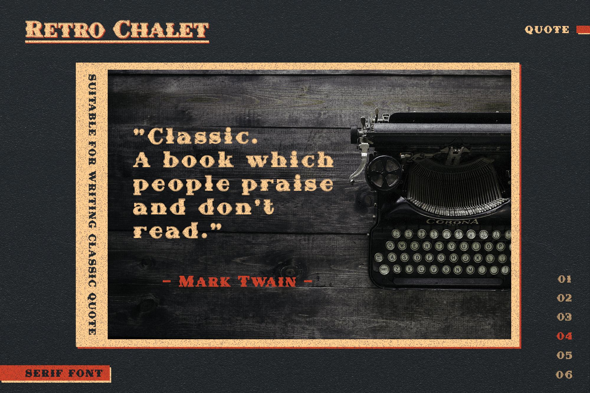 Retro Chalet example image 4