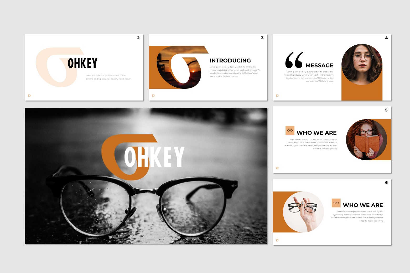 Ohkey - Keynote Template example image 2