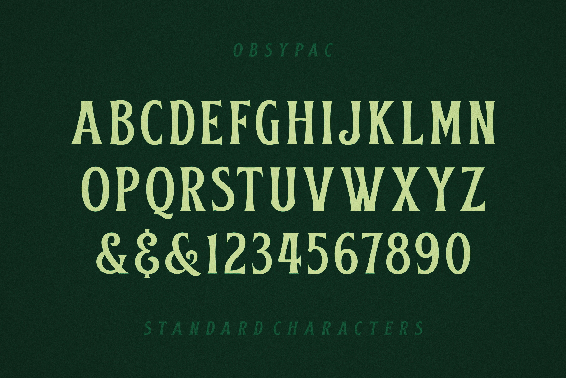 Obsypac | Vintage Serif example image 6