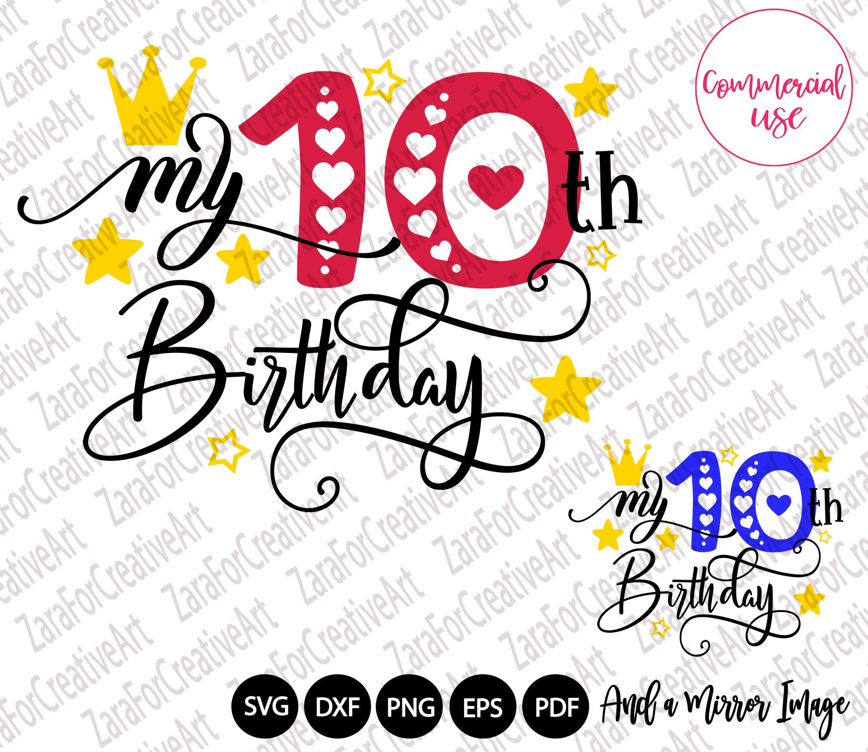 my birthday svg bundle, birthday girl bundle birthday boy , example image 11