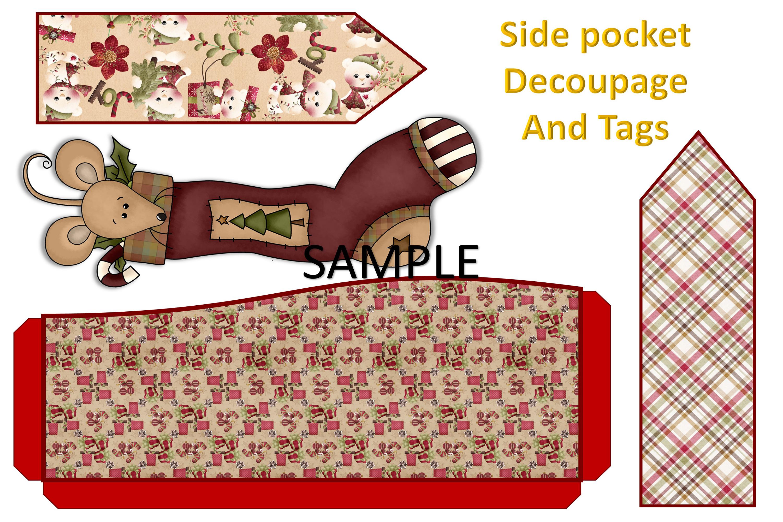 Children's Christmas Journal Kit with Free Ephemera example image 12