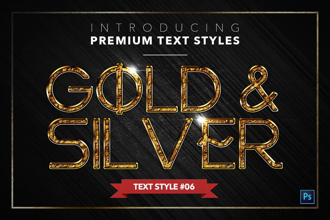 Gold & Silver #5 - 15 Text Styles example image 7