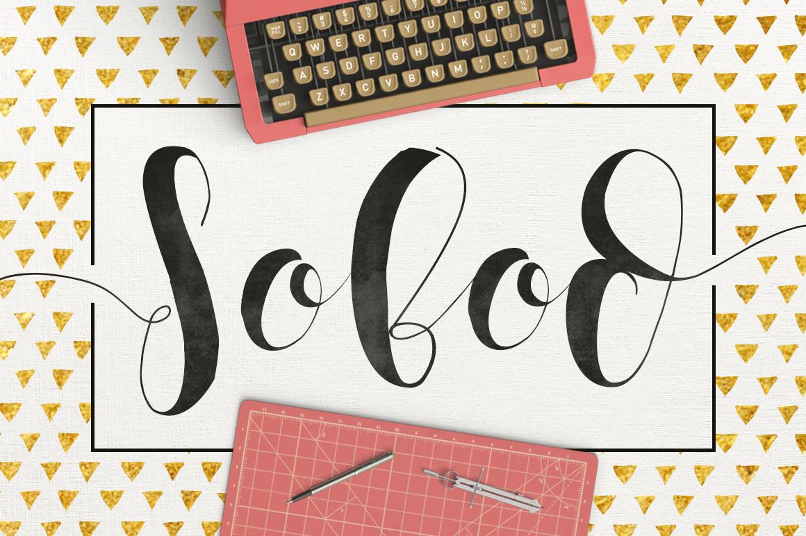 Sobod Typeface example image 1