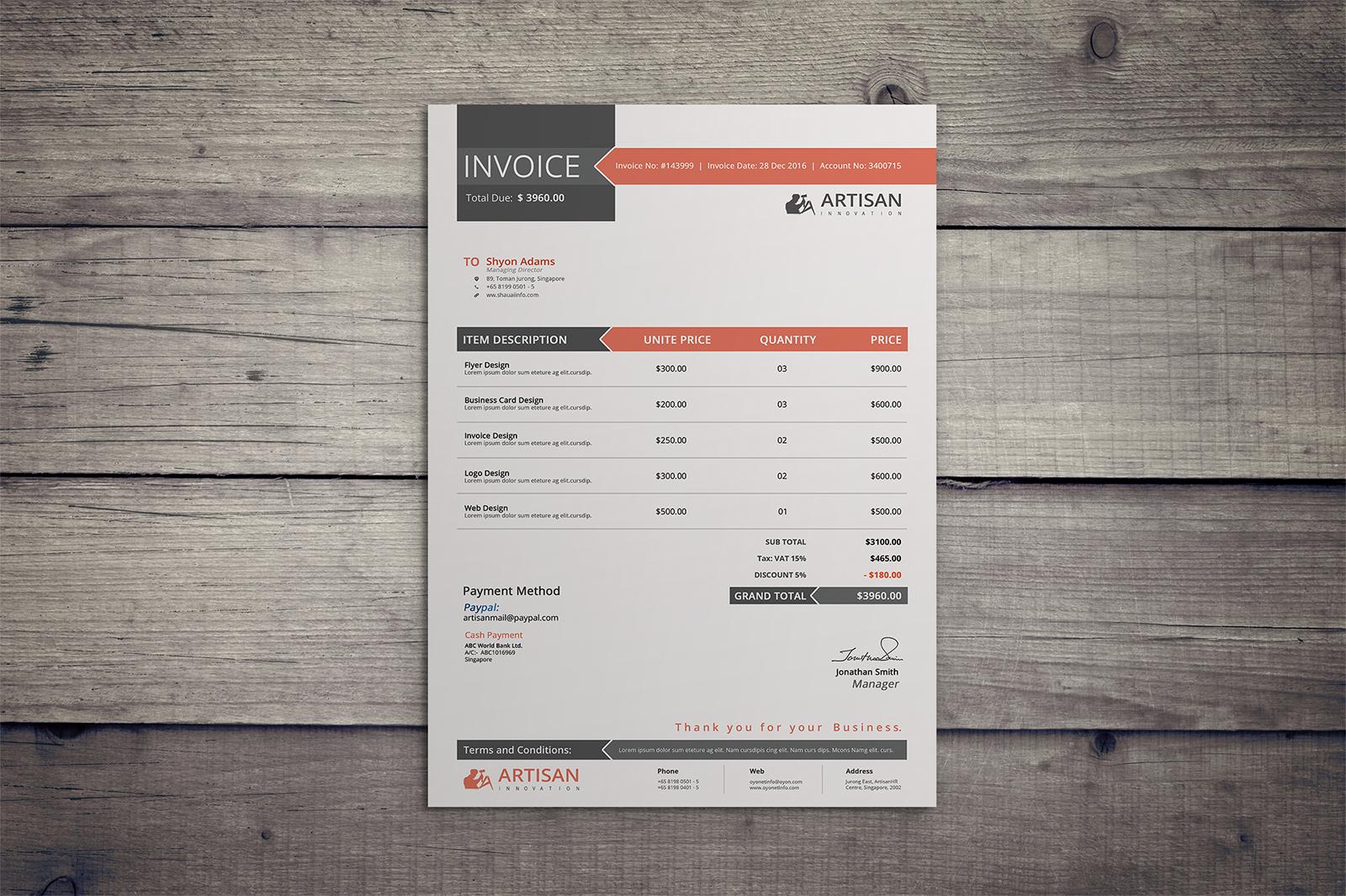 Invoice example image 5