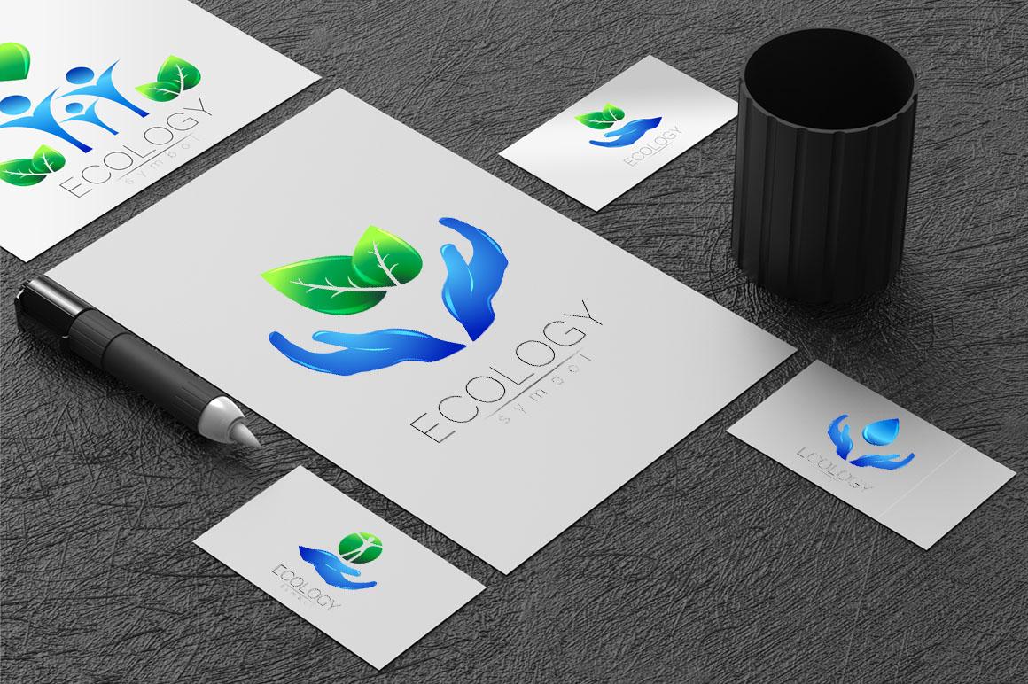 6 Ecology symbols, logos example image 3