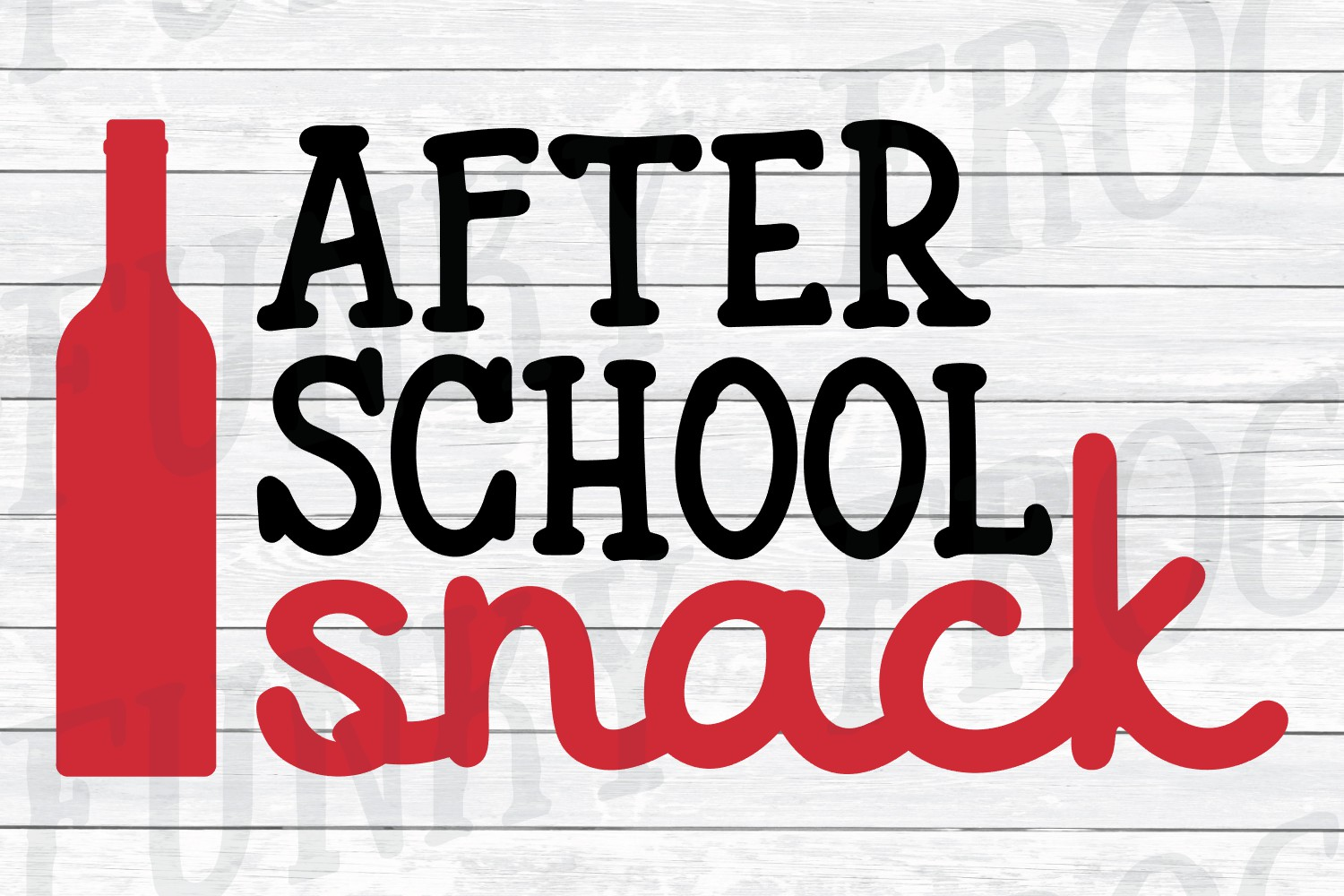 After School Snack - Teacher SVG Cut File example image 2