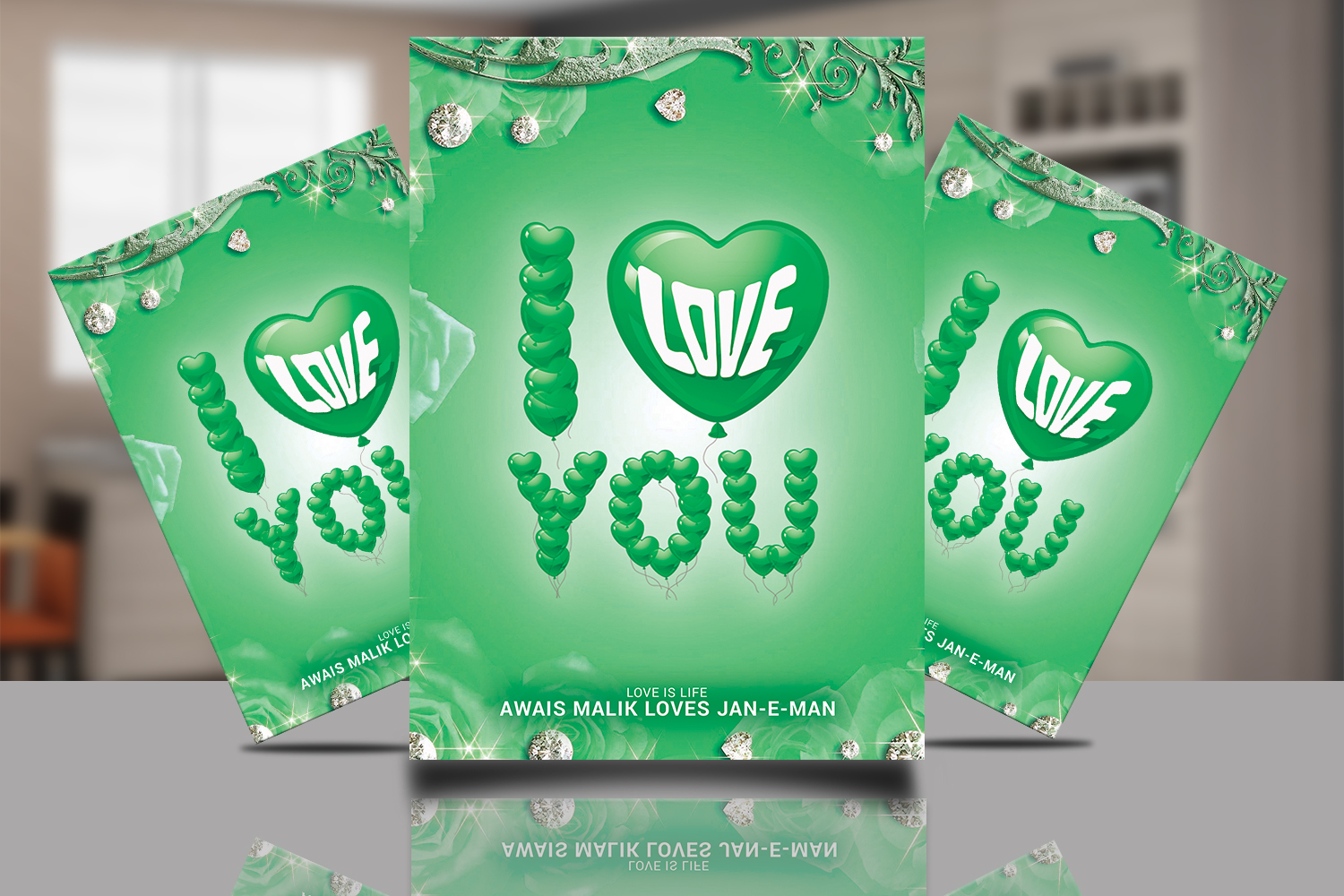 I love You Poster example image 1