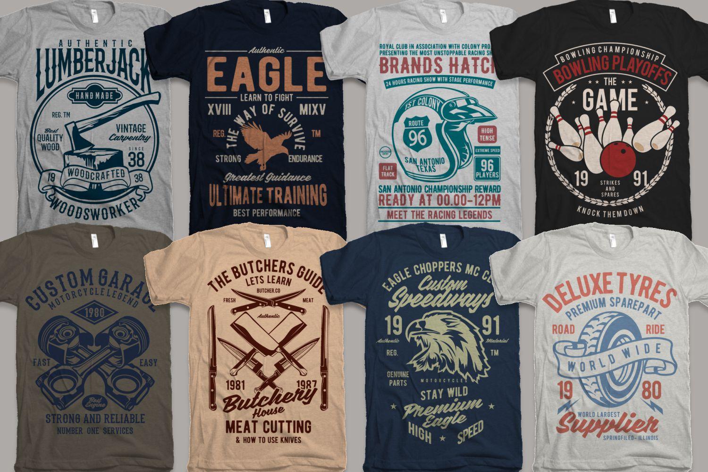 25 Premium Tshirt Designs Big Bundle 5 example image 2
