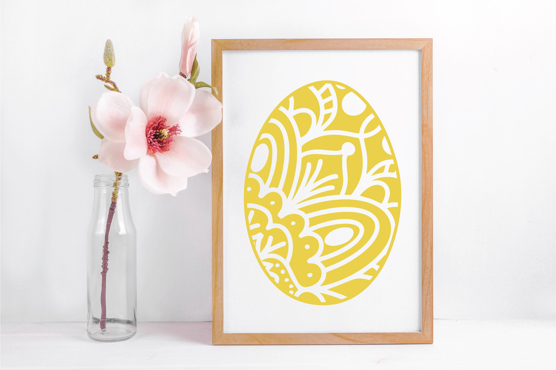 Easter SVG Cut File - Mandala Easter Eggs SVG DXF EPS PNG AI example image 5