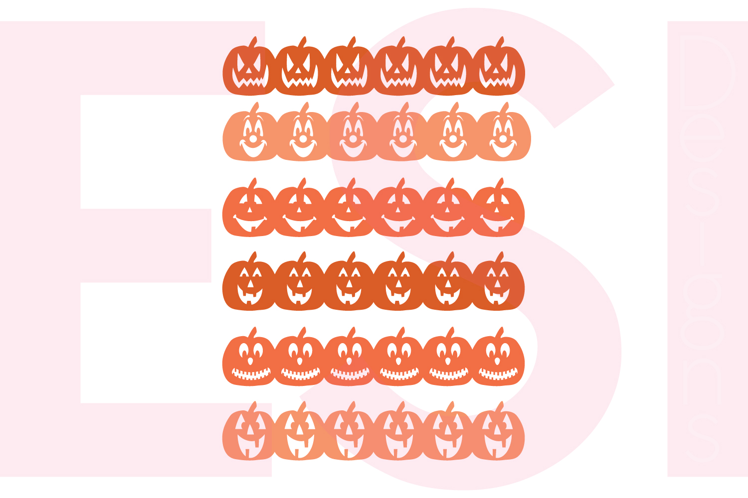 Halloween and Fall Designs Bundle -SVG DXF EPS & PNG example image 2